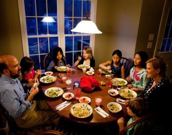 Masa de duminica in familie