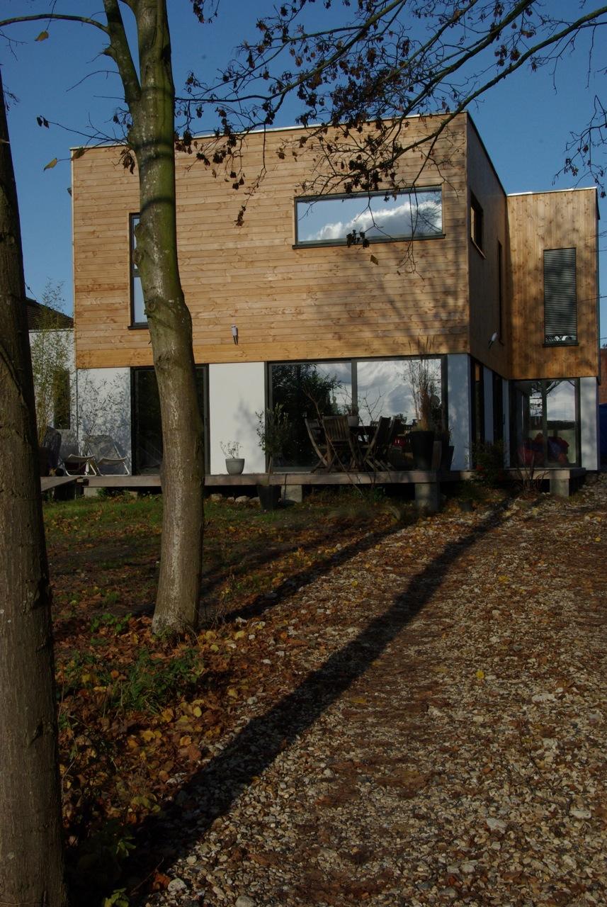 case din lemn litarh