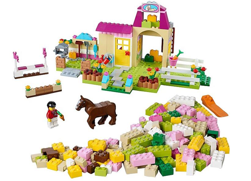 jucarii lego duplo ferma ponei